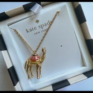 Kate Spade Spice Things Up Gold Camel Necklace